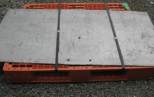 Large section of flat plate