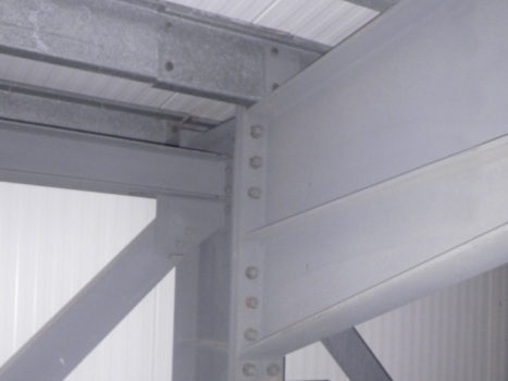 Standard RSJ (as typically used in the construction industry). Whole RSJ or a short section of RSJ