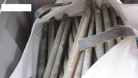Scaffold tubes (mild steel, galvanised steel or aluminium)