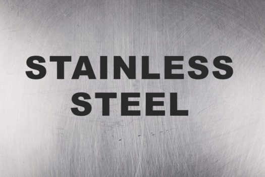 Items of interest made of stainless steel